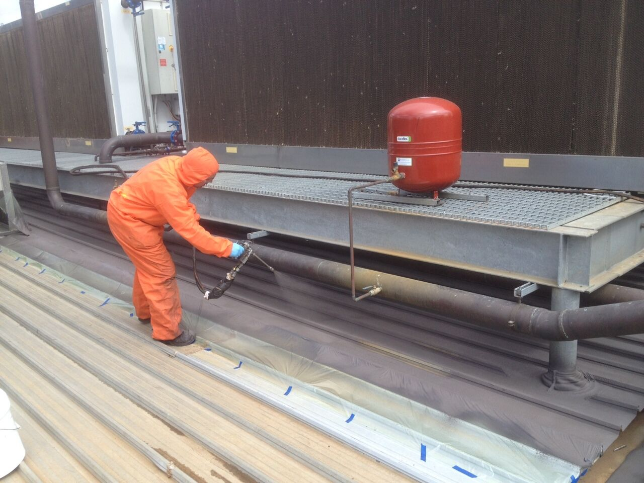 Foundation Waterproofing: Liquid Rubber Foundation Waterproofing
