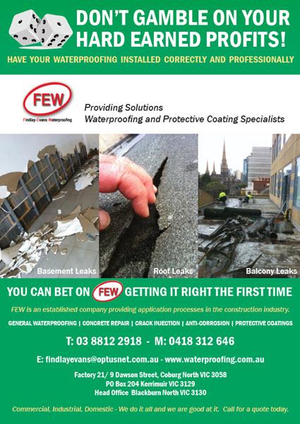 Waterproofing Specialist Melbourne