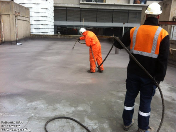 Liquid Applied Waterproofing Membrane