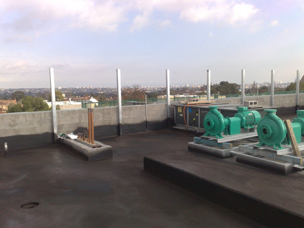 Melbourne Commercial Roof waterproof membrane