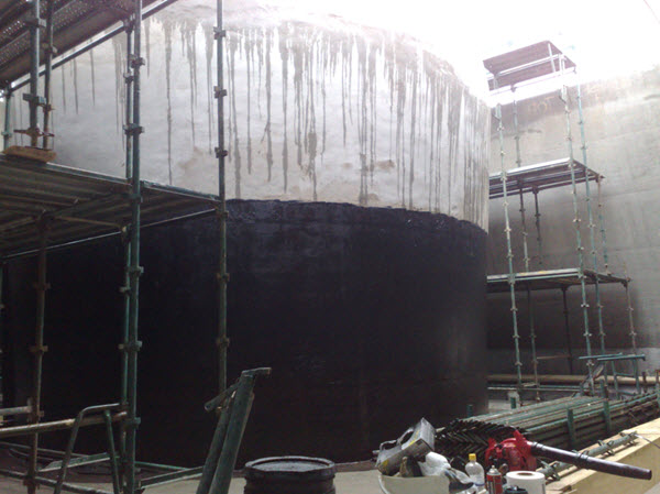 Waterproofing-tanks