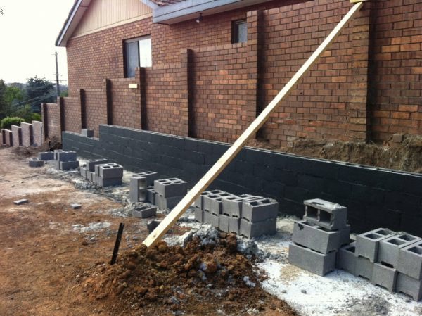 Liquid Rubber Waterproofing Waterproofing Retaining Walls