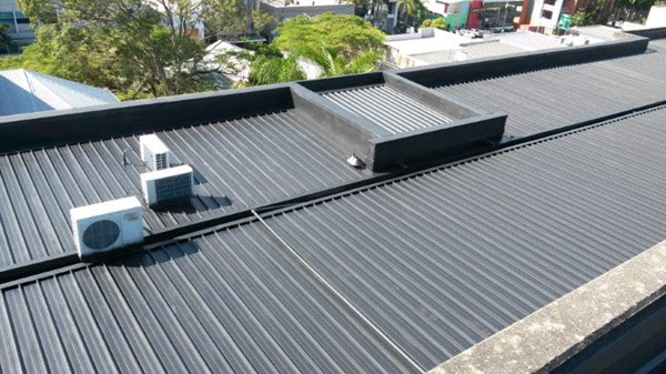 Liquid Rubber Waterproofing How To Stop A Metal Roof From
