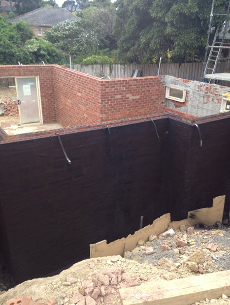 Liquid Rubber Waterproofing –BELOW GROUND WATERPROOFING